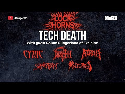 LOCK HORNS: Tech Death Band Debate (live stream archive)