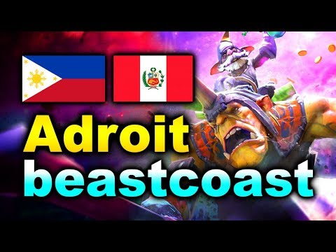BEASTCOAST Vs ADROIT - AMAZING COMEBACK! - MDL Chengdu MAJOR DOTA 2