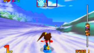Snowboard Kids 2 Game Sample - N64