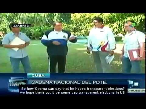 Chavez dismisses health rumors saying he'll be home soon.