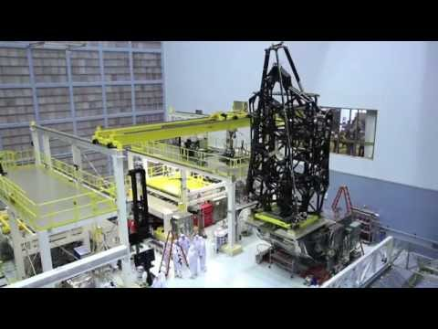 NASA | James Webb Space Telescope Stands Tall - YouTube ▶1:37