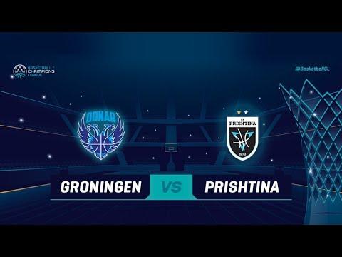 Donar Groningen v Z Mobile Prishtina - Full Game - Qualif Rd 1 - Basketball Champions League 2018
