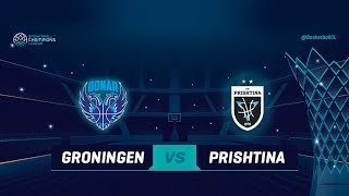 Donar Groningen v Z Mobile Prishtina - Full Game - Qualif Rd 1 - Basketball Champions League 2018-19