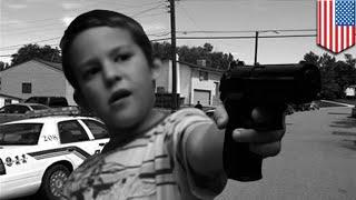 5-летний мальчик застрелил 3-летнюю девочку из пистолета дружка матери