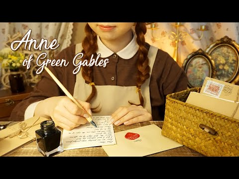 ASMR Anne Of Green Gables🏡 Anne's Letters