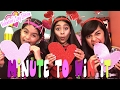 Minute To Win It Challenge - Valentines Day Edition : CHALLENGES // GEM Sisters