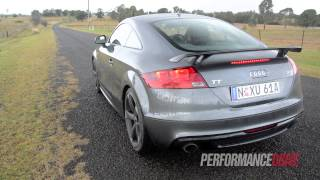 2013 Audi TT Coupe S line Competition 2.0 TFSI engine sound and 0-100k/h