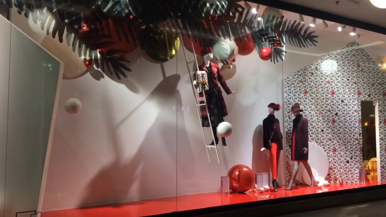 Weihnachts schaufenster 2017 bei ludwig beck youtube - Schaufensterdekoration weihnachten ...