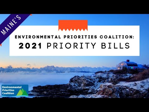 Lunch & Learn: Kick off the 2021 Legislative Session with Maine's Environmental Priorities Coalition