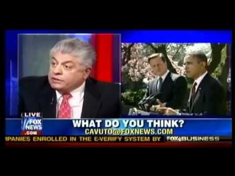 Judge Napolitano ∞ Obama Dangerously Close to Totalitarianism Congress Suprem Court Dead