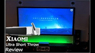 Xiaomi Mi Laser Projector Review! Full Test! Set Up. Screen Type, How to Change to English