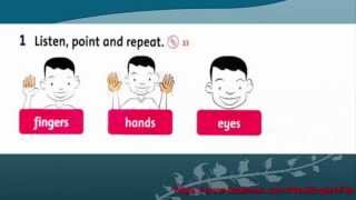 Unit 3 This is my nose Lesson 2 | Family and Friends 1