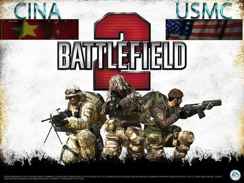 Battlefield 2 Giocatore Singolo CINA vs USCM   Dalian Plants   Partita 2
