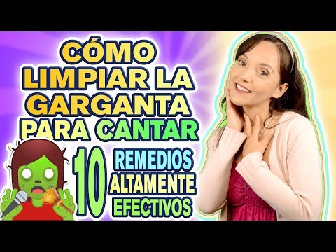 CÓMO LIMPIAR LA GARGANTA - Aclarar la garganta para cantar  - CECI SUAREZ Clases de Canto