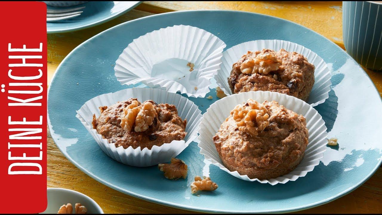 Bananenmuffins ohne Zucker | REWE Deine Küche