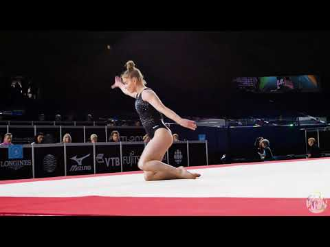 Alice Kinsella (GBR) FX - 2017 World Championships - Podium Training