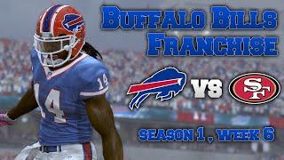 Madden 17: Buffalo Bills Franchise vs 49ers [W6, S1]