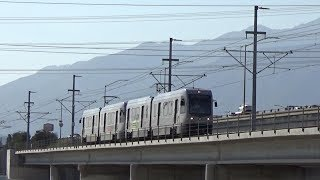 Gold Line Action In East Los Angeles and In the Foothills With Bonus Scenes.