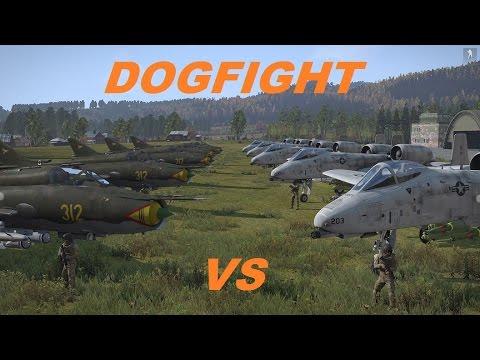 ArmA 3 SU-22 vs A-10 - YouTube