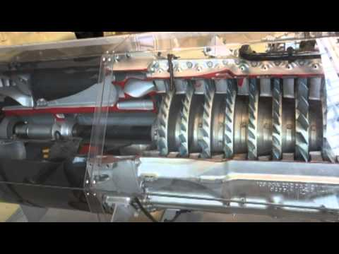 HD jumo 004 German jet engine from Messerschmitt ME262 WW2