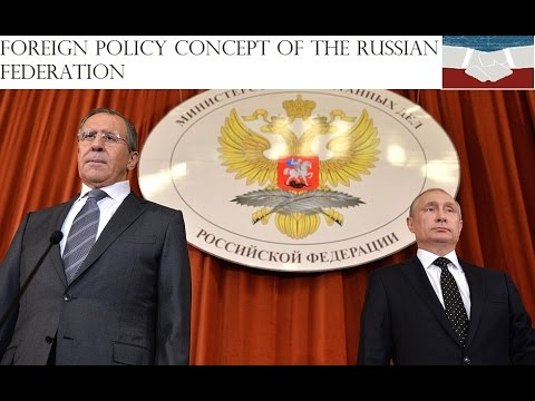 Russian Foreign Policy Concept 30NOV2016