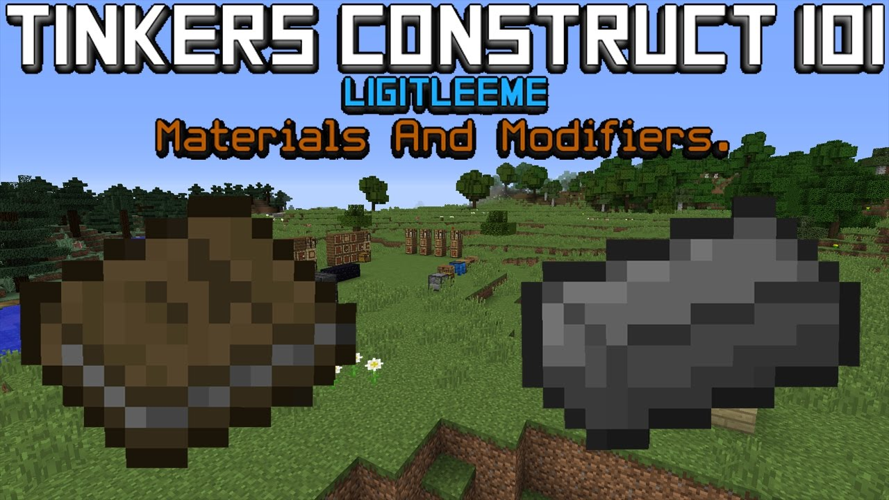 how to add modifiers in tinkers construct 1.10.2