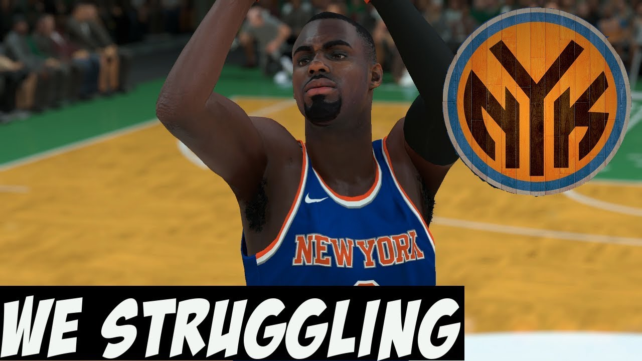 6e9f110ab76 NBA 2K18 Knicks MyGM/MyLeague Y2 | The Weirdest Losing Streak Ever ...