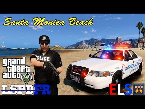 Santa Monica Beach Patrol GTA 5 LSPDFR Episode 118