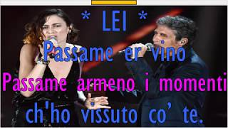 Luca Barbarossa Anna Foglietta PASSAME ER SALE (DUETTO) Karaoke