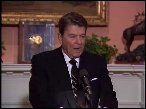 President Reagan's Briefing for Network Anchors on Reykjavik Summit on October 14, 1986