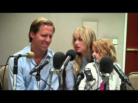 DAKOTA JOHNSON AND NAT FAXON TALK ABOUT THE PREMISE OF 'BEN & KATE'
