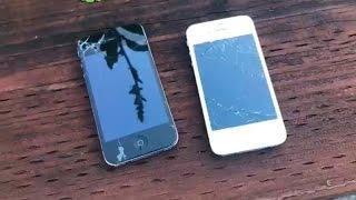 Iphone 4 Vs. 4s Drop Test!