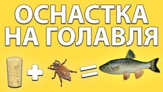 Хитрая и очень простая оснастка на голавля Советы рыболова