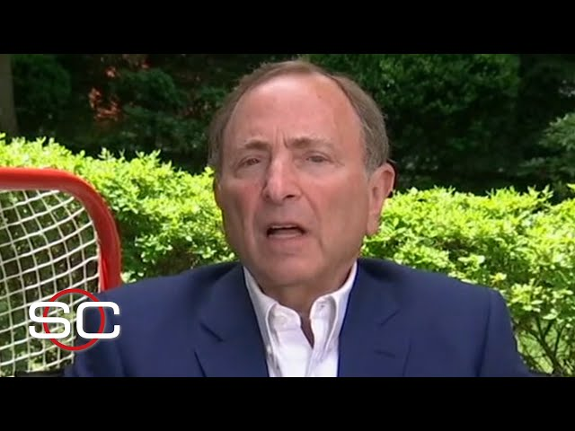 NHL commissioner Gary Bettman expects Stanley Cup Playoffs to have meaning | SportsCenter