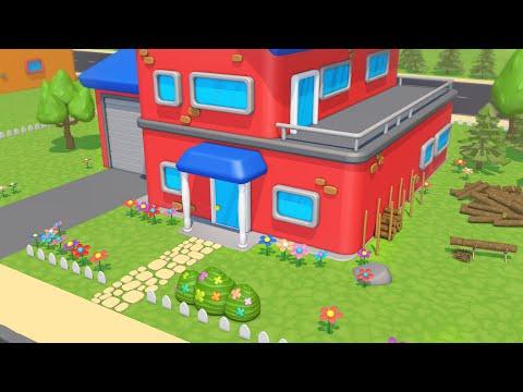 Львенок Лева готовится к зиме – пилит дрова. Мультик про Львенка.