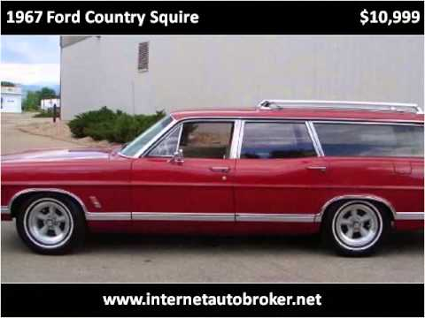 1967 ford country squire used cars longmont co youtube. Black Bedroom Furniture Sets. Home Design Ideas