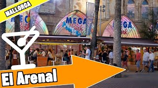 El Arenal Mallorca Spain: Evening and nightlife