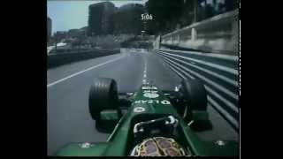 F1 Monaco 2001 Qualifying - Eddie Irvine Action!