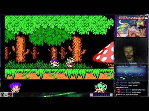 Little Nemo: The Dream Master прохождение 100% | Игра на (Dendy, Nes, Famicom, 8 bit) Cтрим HD [RUS]