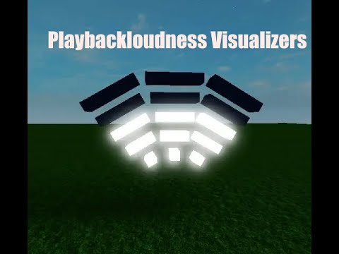 Roblox Audio Visualizer Uncopylocked Playbackloudness Sound Visualizer For Roblox Clubs Youtube