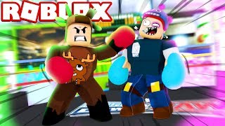 BOXING SIMULATOR IN ROBLOX! (Roblox Weight Lifting Simulator)