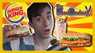 Burger King Chicken Teriyaki & Red Velvet Oreo Shake-the Food Review-ep.34