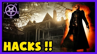 Resident Evil 7 - Messing around with HACKS! (Teleport / Health / Inf Ammo ..etc)