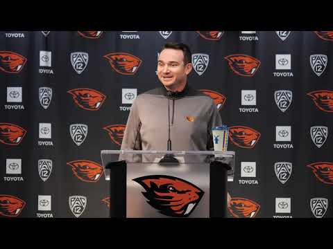 Oregon State Beavers - Jonathan Smith: Jermar Jefferson will not redshirt!
