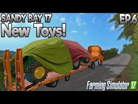 Sandy Bay 17 - Farming Simulator 17 -  Ep.6 (with Wheel Cam)