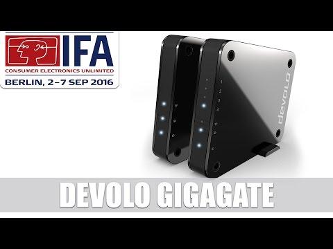 Devolo GigaGate: WLAN-Bridge für Gigabit-Speed im Wohnzimmer #IFA2016