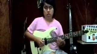 Ibanez guitar solo competition 2013 ,Believe by Toe Toe Linn,Myanmar