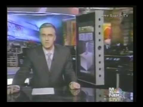 Keith Olbermann 2004 Ohio Election Fraud/Results Coverage