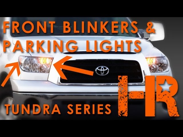 2007 2013 Toyota Tundra Led Turn Signal Parking Lights Headlight Revolution Tundra Series 7 Youtube