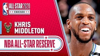 Khris Middleton 2020 All-Star Reserve